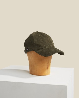York Corduroy Cap, Dark Green