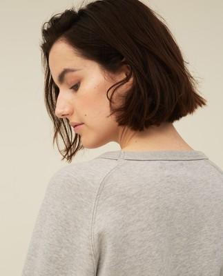 Nina Sweatshirt, Gray Melange