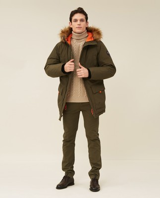 Owen Down Parka, Green