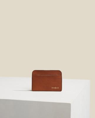 Woods Leather Card holder, Brown
