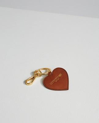 Haven Leather Keyring, Brown