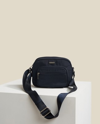 Marlone Crossbody Bag, Dark Blue