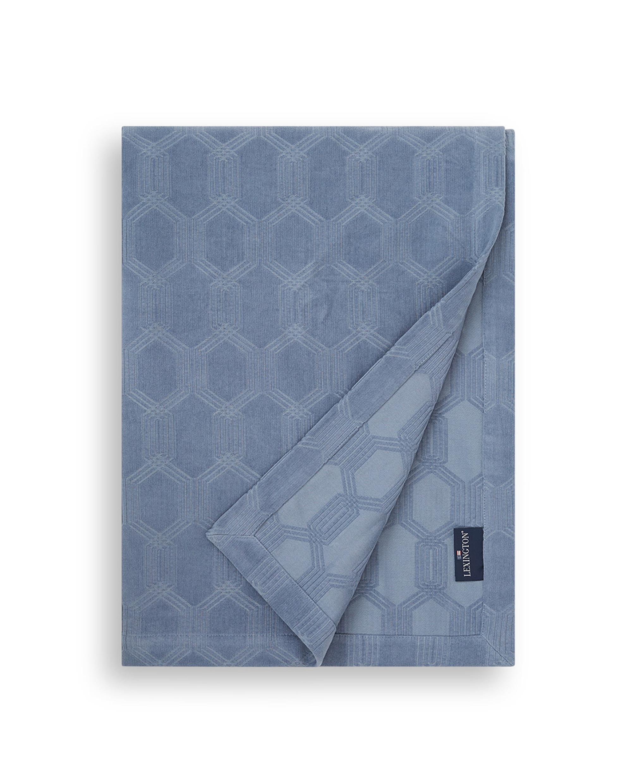 Jacquard Cotton Velvet Bedspread
