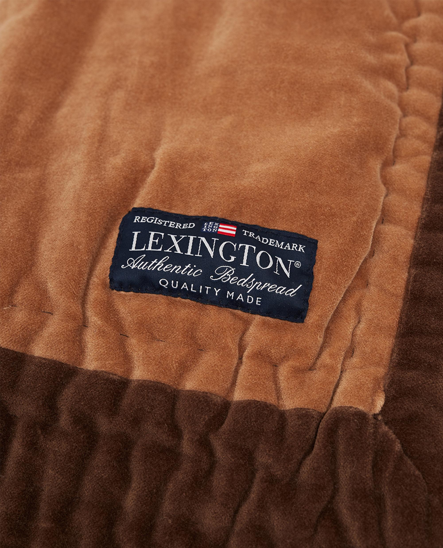 Quilted Cotton Velvet Bedspread