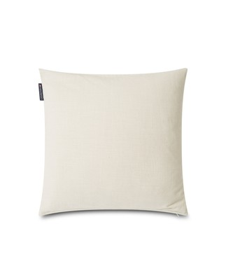 Velvet Cord Cotton Pillow Cover, Off White
