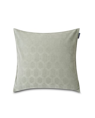 Jacquard Cotton Velvet Pillow Cover 50x50cm, Sage Green