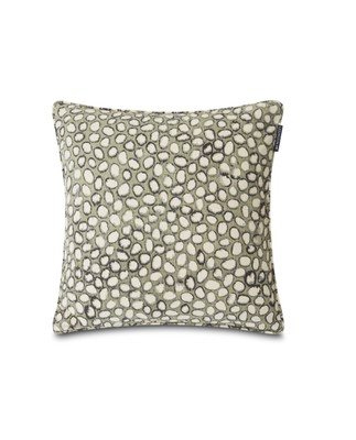 Stones Printed Cotton Pillow Cover