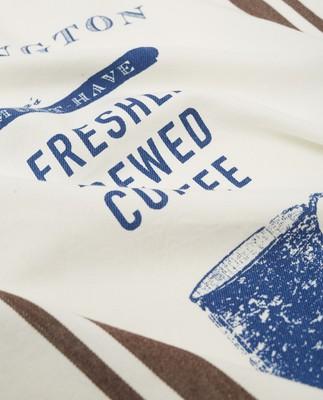 Printed Cotton Twill Coffee Kitchen Towel