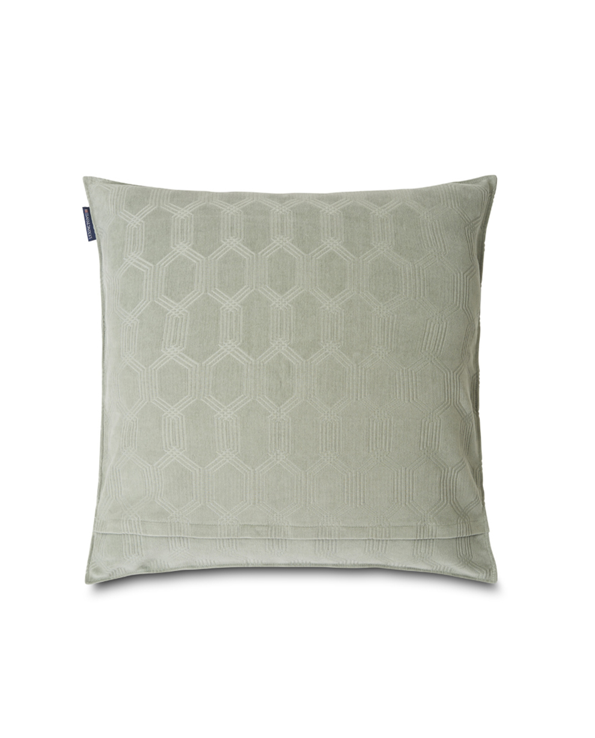 Jacquard Cotton Velvet Pillow Cover 65x65cm, Sage Green