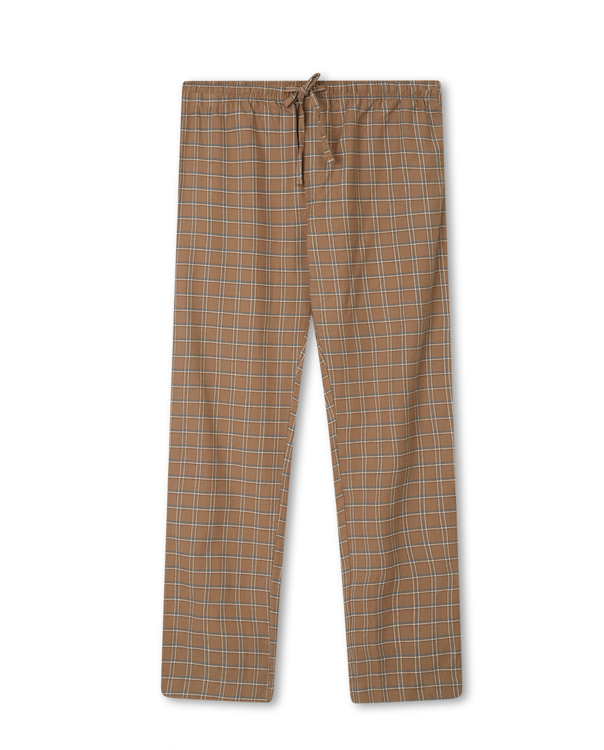 Men's Organic Cotton Flannel/Jersey Pajama Set