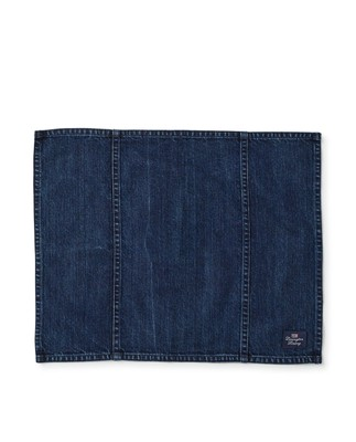 Icons Cotton Twill Denim Placemat