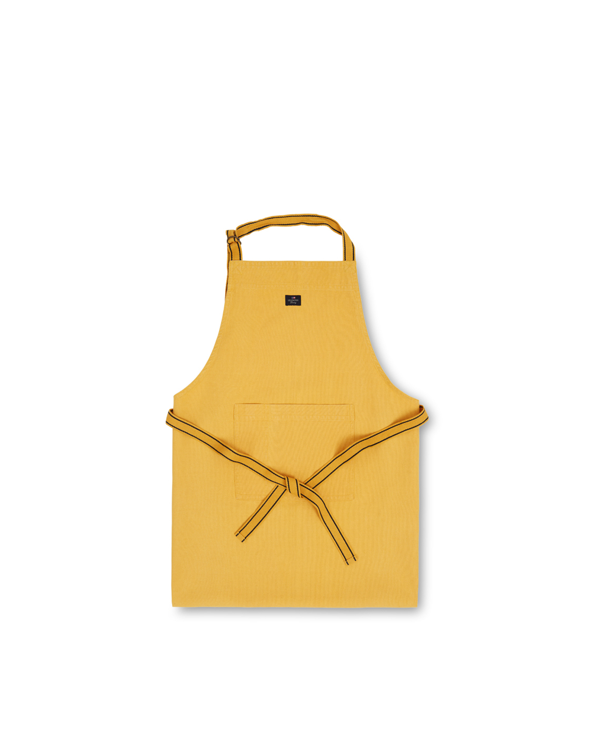 Icons Cotton Canvas Apron, Yellow