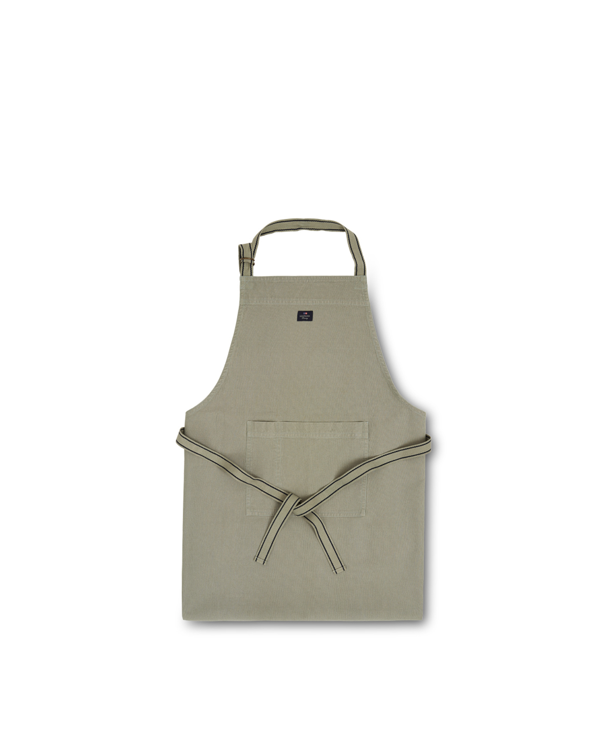 Icons Cotton Canvas Apron, Sage Green