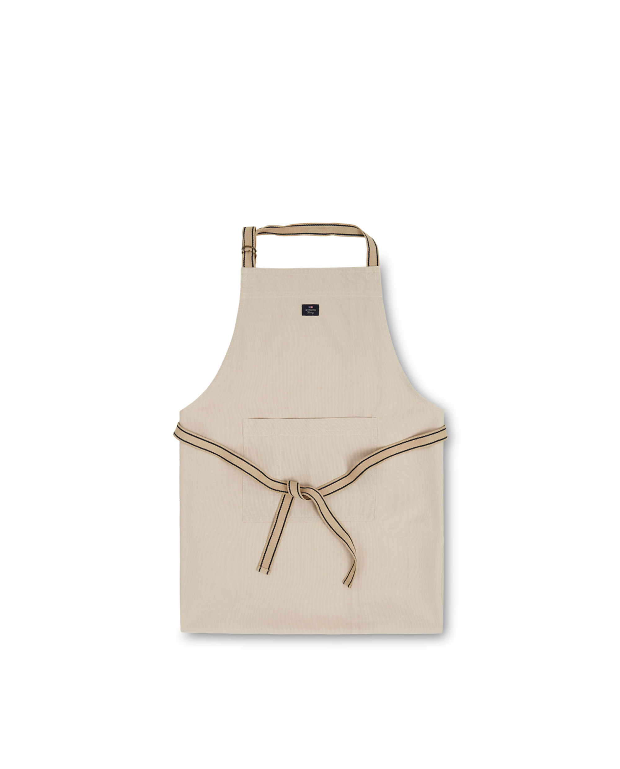 Icons Cotton Canvas Apron, Beige