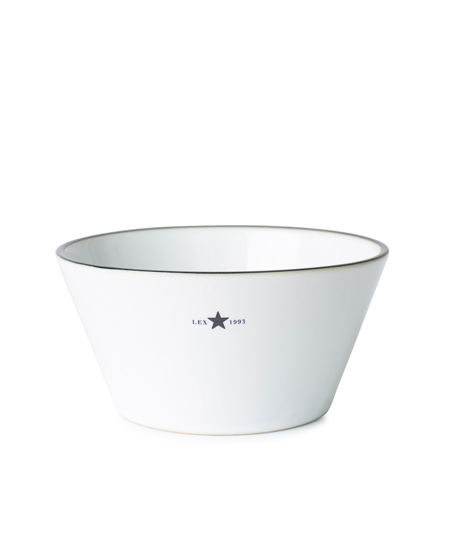 Stoneware Bowl, White