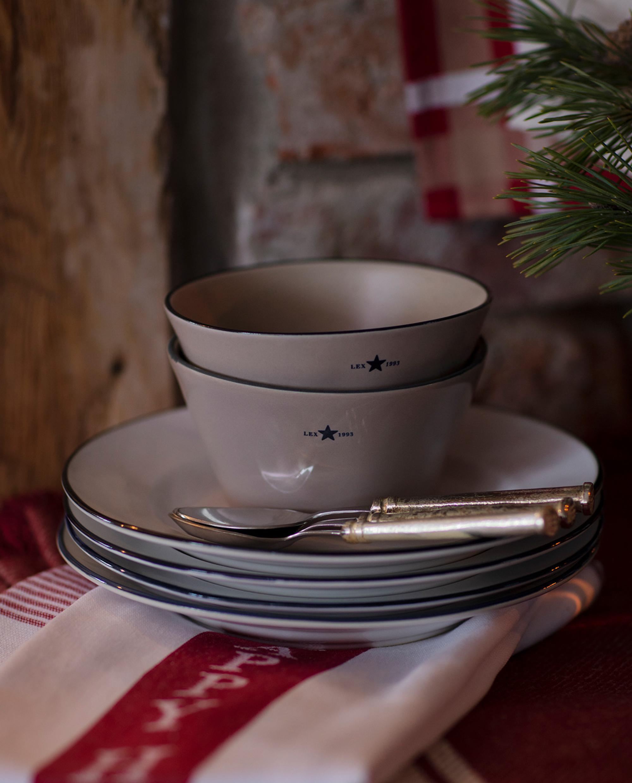 Stoneware Bowl, Beige