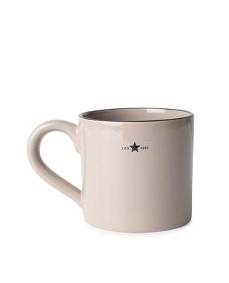 Stoneware Mug, Beige
