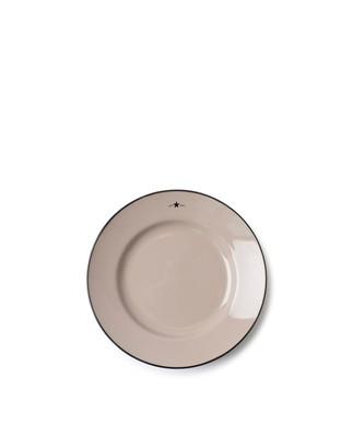 Stoneware Dessert Plate, Beige