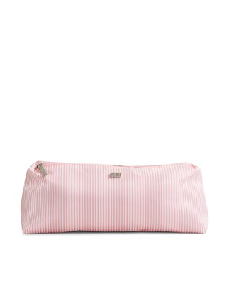 Icons Small Toilet Bag, Pink/White