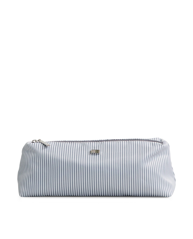 Icons Small Toilet Bag, Gray/White