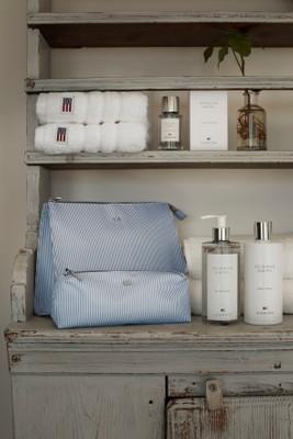 Icons Big Toilet Bag, Gray/White