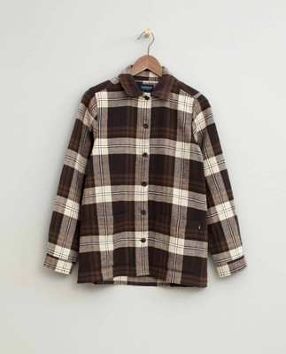 Kathy Check Flannel Worker Shirt