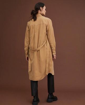 Isa Corduroy Shirt Dress