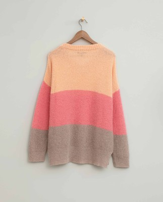 Claire Block Stripe Sweater