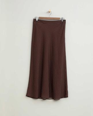 Brielle Dot Print Viscose Skirt