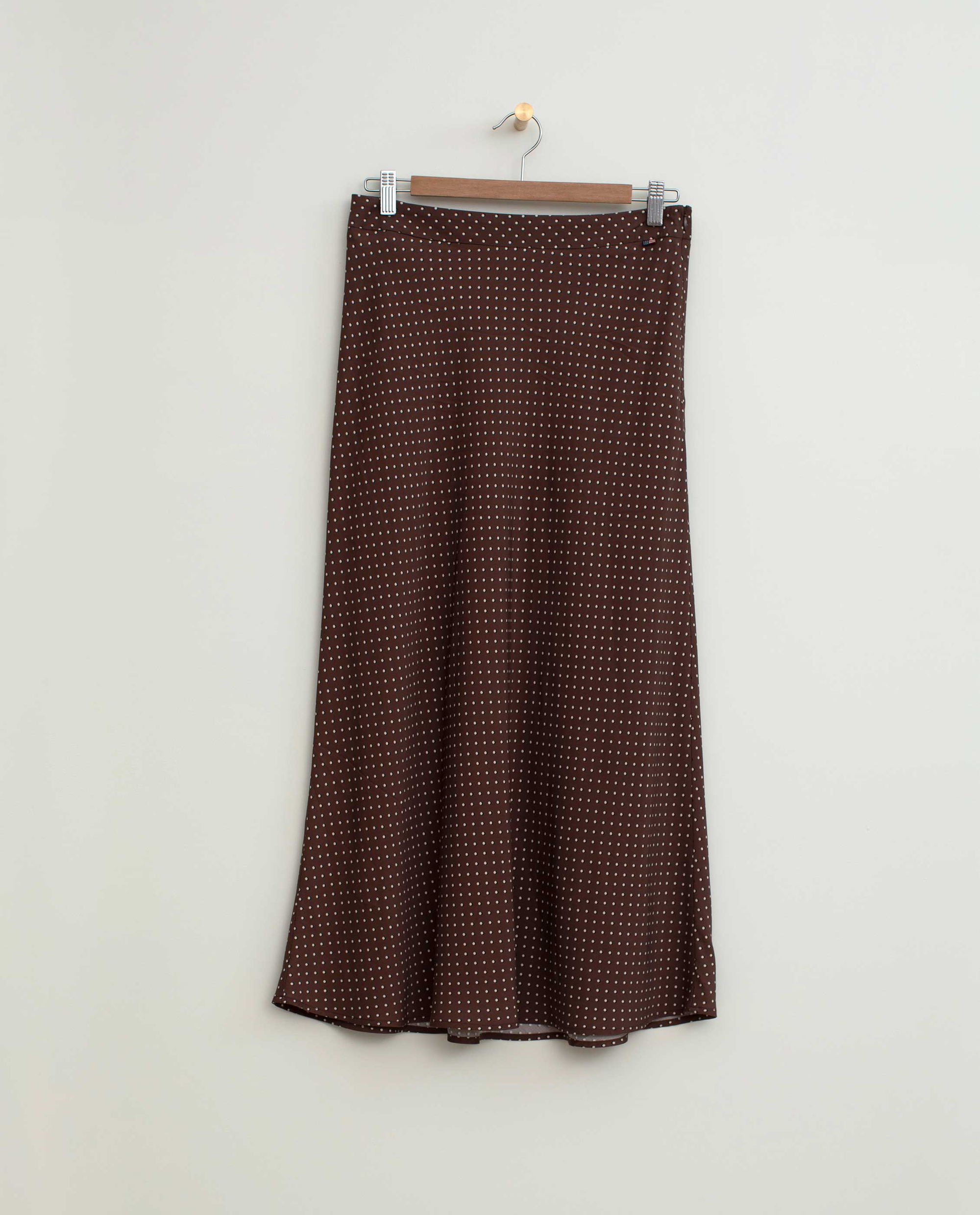 Brielle Dot Print Viscose Skirt