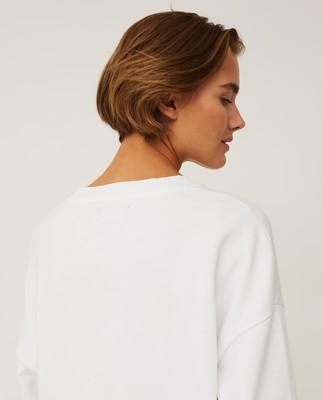 Kibby Sweatshirt, Offwhite