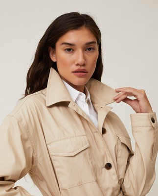 Raquel Waxed Cotton Jacket