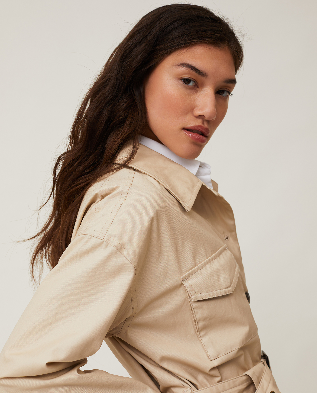 Raquel Waxed Cotton Jacket