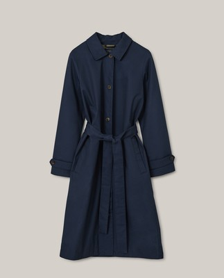 Jonalyn Waxed Cotton Coat