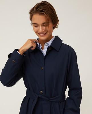 Jonalyn Waxed Cotton Coat