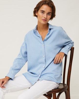 Edith Denim Lyocell Shirt