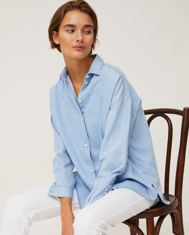 Edith Denim Lyocell Shirt