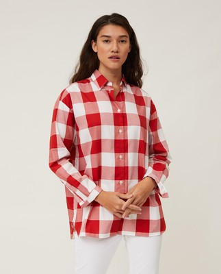Edith Check Light Oxford Shirt