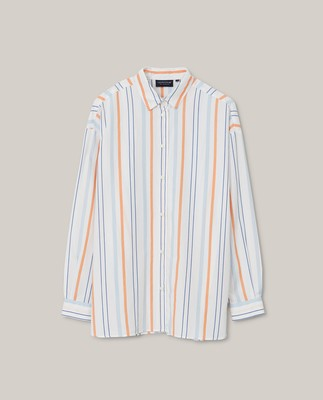 Edith Striped Poplin Shirt