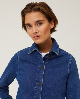 Kathy Denim Worker Shirt