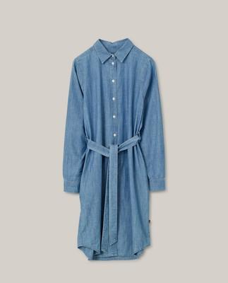 Isa Denim Shirt Dress