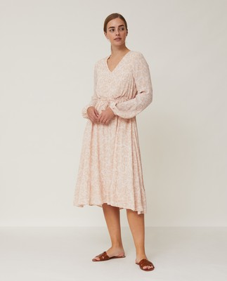 Maddie Flower Flounce Dress