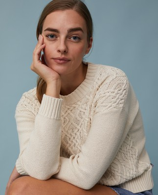 Sienna Cable Knit Sweater
