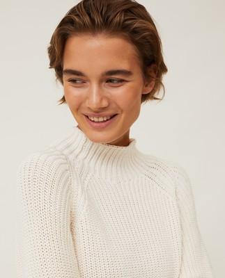 Cora Mock Neck Sweater