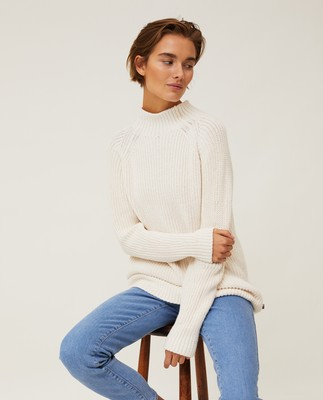 Cora Mock Neck Sweater