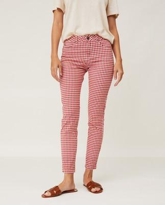 Zoe Checked Pants