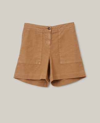 Juliana Linen Blend Shorts