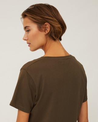 Vanessa Organic Cotton Tee, Green