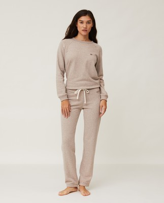 Jenna Pants, Light Brown Melange