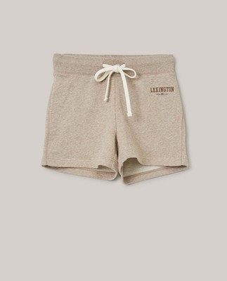 Naomi Shorts, Light Brown Melange